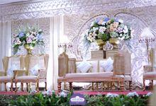 Dekorasi Catering Pernikahan by Vessa Catering