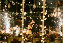 Fredrich & Monica - Summer Swing wedding at Sofitel Bali by Silverdust Decoration