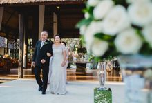 Pati & Cesi Wedding at Tirtha Villa by Silverdust Decoration