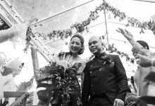 Black & Marsala Wedding of Ranggani & Ario by Delapan Bali Event & Wedding