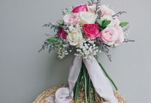 Yuven & Husband Holy Matrimony by Delegarden Flowers