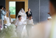Wedding of Indra & Lhiny (Holiday Inn) by Delfi Organizer