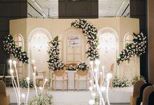 The Wedding Of Della and Fabian by Elior Design