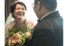 Intimate Wedding Makeup By Florencia Melissa by Makeup by Florencia Melissa
