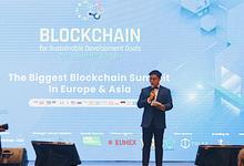 MC for European Blockchain Hub  by Demas Ryan & Lasting Moments Entertainment