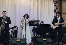 Band & MC for Ruth & Frans by Demas Ryan & Lasting Moments Entertainment