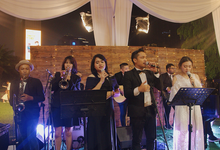 Mini Orchestra set for Rhea & Chris by Demas Ryan & Lasting Moments Entertainment