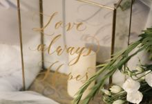 Denevan & Astrid by Sweetbella Florist & Decoration