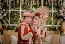 Wedding Photo of Denia dan Dimas by Mazally Photography