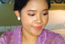 Sister's of the bride makeup  by deristyana.makeup