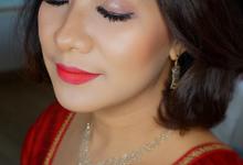 Bold makeup by deristyana.makeup