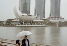 Early & Derry Prewedding Singapore by AKSA Creative