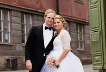 Summer wedding by Annelie Photography