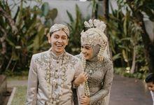 Wedding Deska & Nanda by Azila Villa