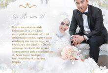 Undangan Digital Elegant White Jasmine by Invian.id