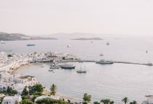 Wedding in Mykonos by Elias Kordelakos