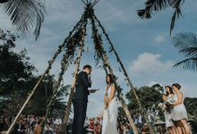 Nelli & Lachlan by Destination Wedding Bali