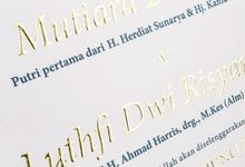 Desty & Luthfi by Meltiq Invitation