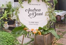 Dewi & Andrea's Wedding by Kreasae