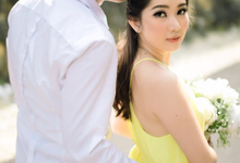 Exquisite Pre-wedding of Tommy and Sasa by Dexterite Makeup Artist