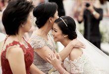 The Holy Matrimony of David & Fara by Skenoo Hall Emporium Pluit by IKK Wedding