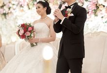 Wedding Of David & Fara by Skenoo Hall Emporium Pluit by IKK Wedding
