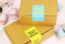 Push Pop Confetti Packaging by Tossme