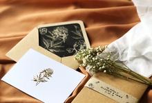 OLLANDO & IMMA (Flaxen Seal Wax Envelope Luxury) by Sanggar Undangan