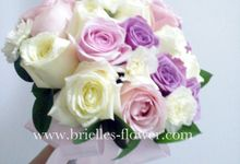 Bridal Hand Bouquet by Brielles Flower House