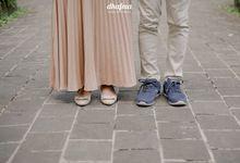 Prewedding W & A by dhafma photography