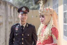 Wedding A & R by dhafma photography