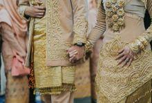 Wedding Reception of Dinda & Geri by Menara Mandiri (Ex. Plaza Bapindo) by IKK Wedding