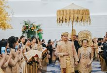Wedding Reception of Dinda & Geri by  Menara Mandiri by IKK Wedding (ex. Plaza Bapindo)