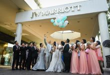 An Amazing Fairy tale Wedding by JW Marriott Hotel Surabaya