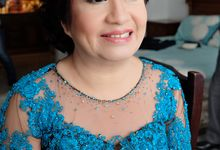 Makeup for Mom and Sister of Groom by Makeup by Maya Kusumadewi