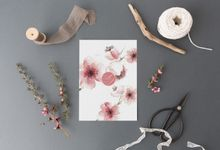 Cherry Blossom by Trouvaille Invitation