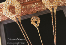 Javanese Heritage headpiece (Tusuk Konde) by Diamond Grace