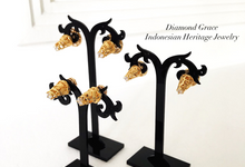 Indonesian Traditional Earrings (Giwang/Subeng) by Diamond Grace