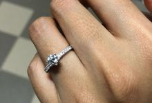 Diamond Solitaire by GIOIA FINE JEWELLERY