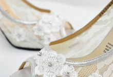 Diana Bridal Shoes by Evaldo Bridal Shoes