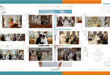 Dikrestano & Jennifer Virtual Online Wedding Live Streaming Holy Matrimony by Truevindo
