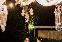 Dila & Rizky Reception at On Green by AKSA Creative