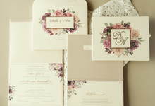 Dilla & Ario by Meltiq Invitation