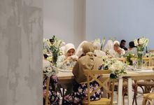 Dina & Adhan Wedding by Surabe Catering
