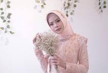 Gaun Resepsi Garden/ Rustic (Rental & Custom Made) by Dinda Firdausa Kebaya