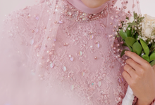 Gaun Resepsi Pink (Rental & Custom Made) by Dinda Firdausa Kebaya