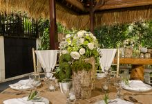 Wedding at The Hidden Palace by Hanging Gardens of Bali