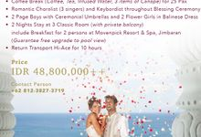 Divine Blessing Intimate Package by KAMAYA BALI