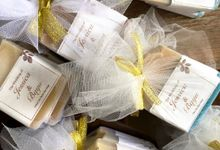Wedding Favor of Jessica and Bayu by The Soap Project Indonesia