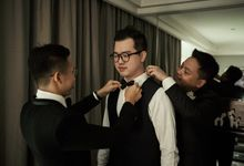 Menara Mandiri - Prosesi Penjemputan Darwin & Jessica by IKK Wedding Venue